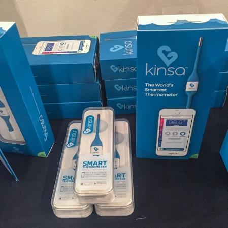 Kinsa smart thermometer