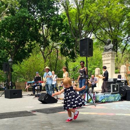 Live music Washington Square Park