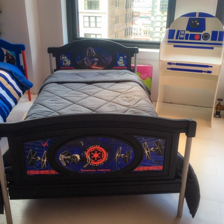 Star Wars bedroom set from Delta Children's