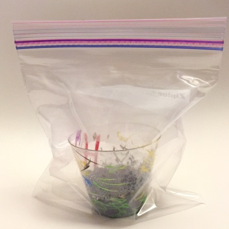 Ziplock bag greenhouse
