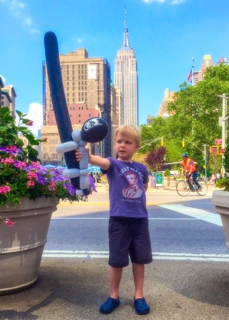 Batman Balloon Empire State Building