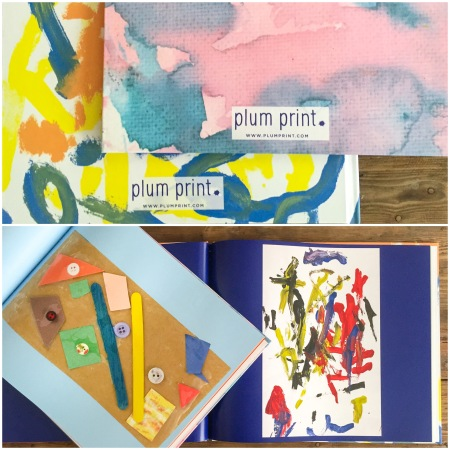 Plum Print art books