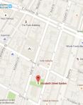 Map to Elizabeth Street Garden