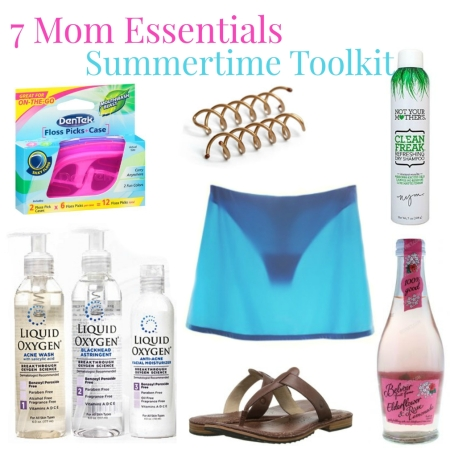 7 mom Summertime Essentials