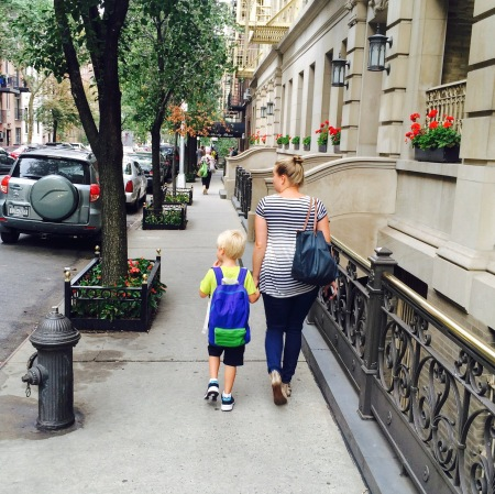 Walking to school NYC