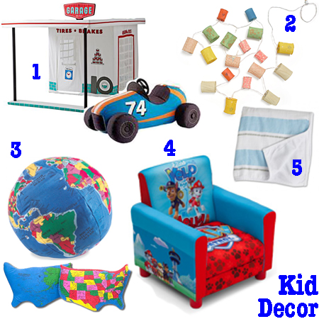 Kid Decor Gifts