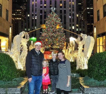 My Strange Family Rockefeller Christmas Tree 2015