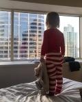 lilStrange in a hotel