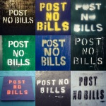 Post No Bills