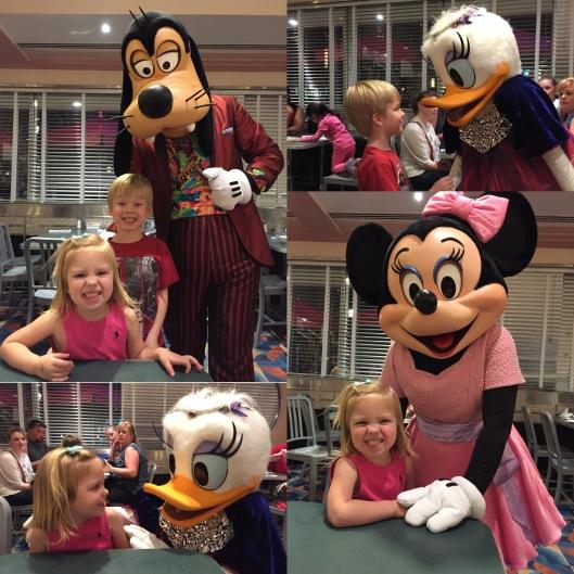 Disney Character Dine