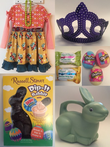 Easter basket ideas with russell stover my strange family my strange family easter negle Image collections
