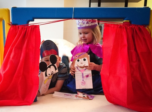 Disney Kids Live on Stage puppet show