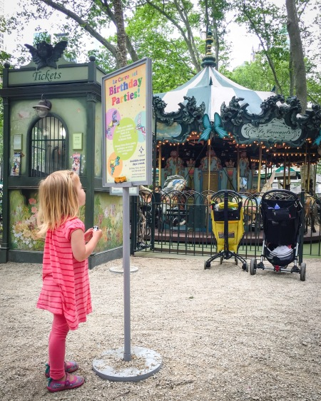 Le Carrousel in Bryant Park Birthday