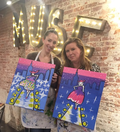 Muse Paintbar Fashion Night out