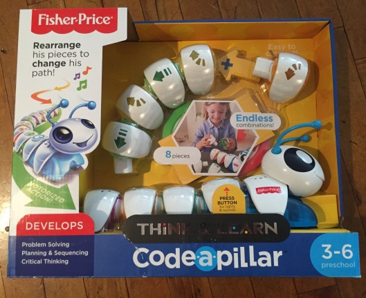 Codeapillar Fisher Price