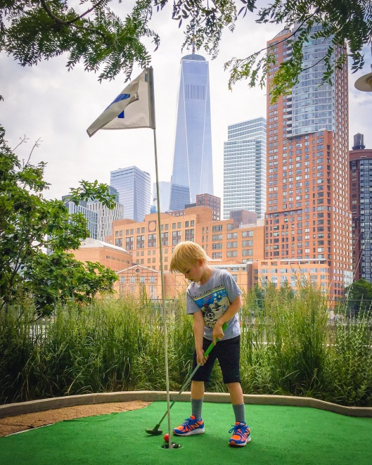 mini golf NYC