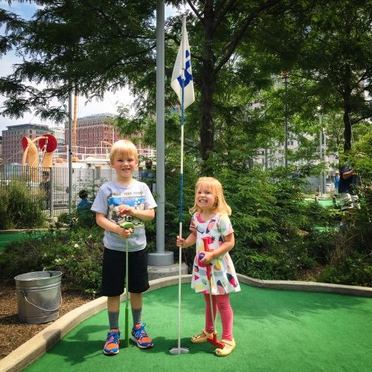 Pier 25 mini golf