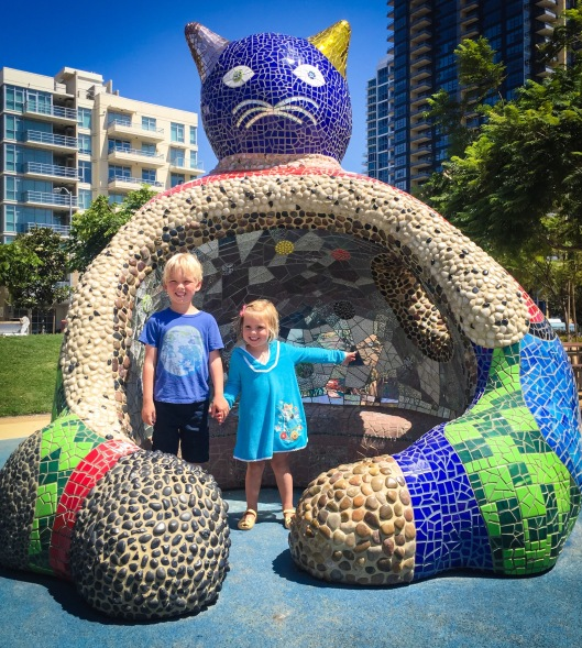 niki de saint phalle at San Diego Waterfront Park