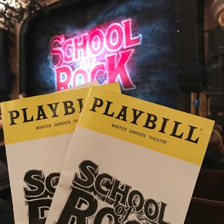 school-of-rock-playbill