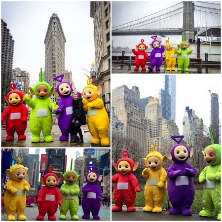 Teletubbies in NYC