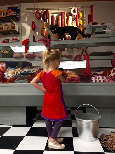 Deli counter Lucy Sparrow