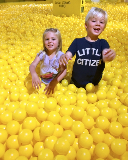 H and L Ball pit