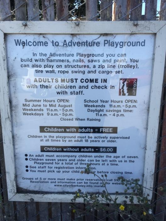 Adventure Playground cost
